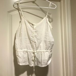 Forever 21 Adjustable Camisole With Cinch Waist